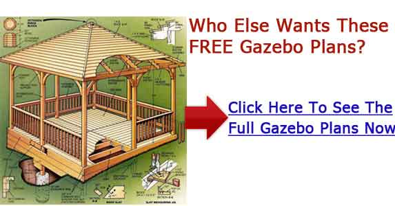 Gazebo building plans construct a summerhouse for Build your own gazebo free plans